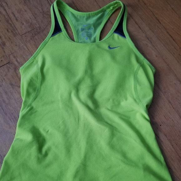 Nike dri fit women's workout tank top small